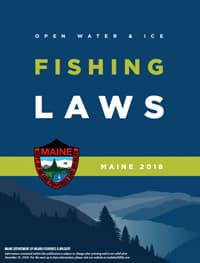 Fishing boating maine dept of inland fisheries and wildlife for Maine fishing laws